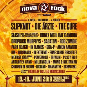Nova Rock, von 13.-16.06.2019 in Nickelsdorf @ Nickelsdorf