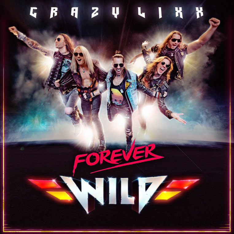 Crazy-Lixx-Forever-Wild-cover-artwork