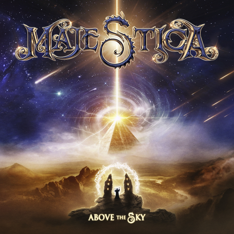 Majestica-Above-the-Sky-cover-artwork
