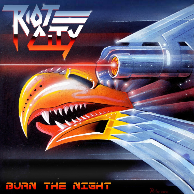 Riot-City-Burn-The-Night-cover-artwork