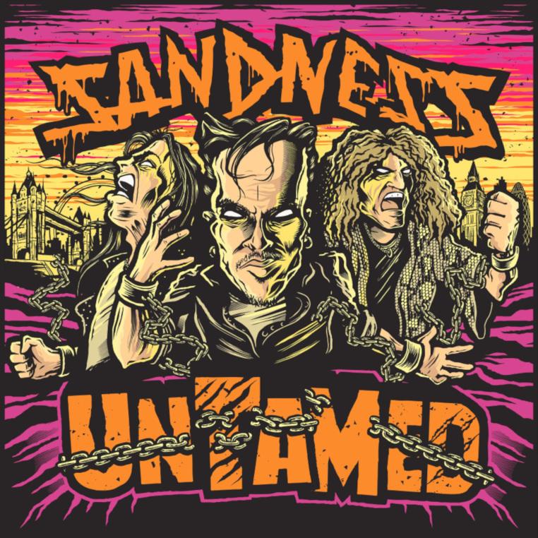 Sandness-Untamed-cover-artwork