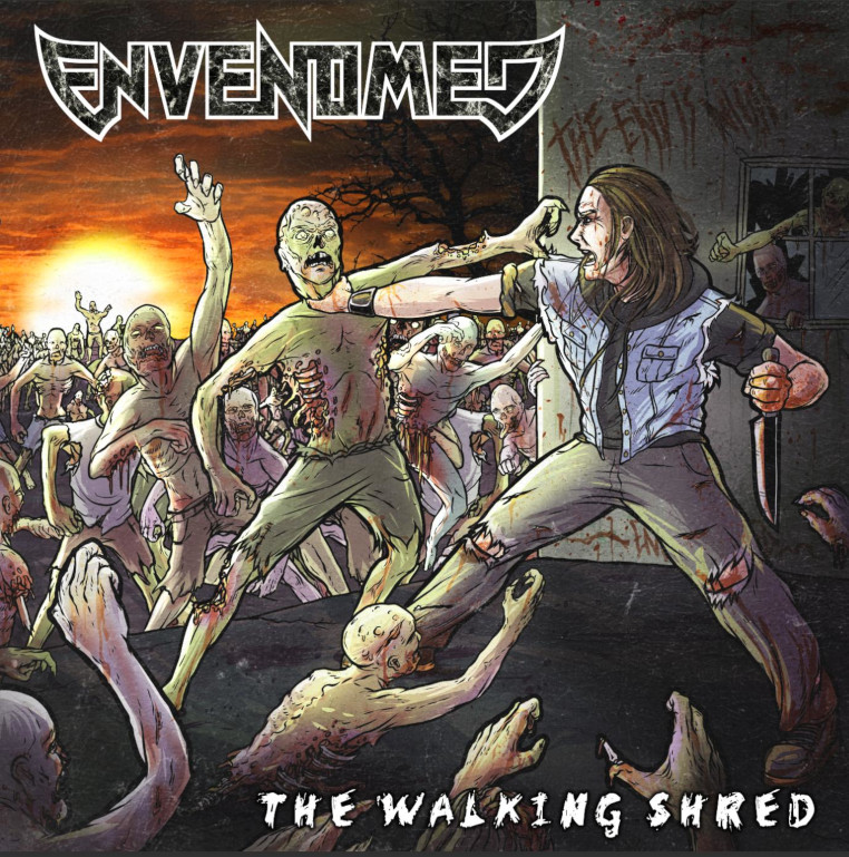 Envenomed-The-Walking-Shred-cover-artwork