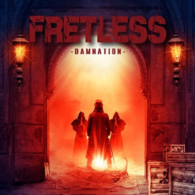 FRETLESS-Damnation-cover-artwork