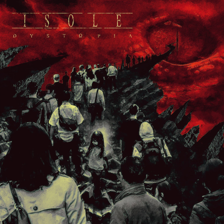 ISOLE-Dystopia-cover-artwork