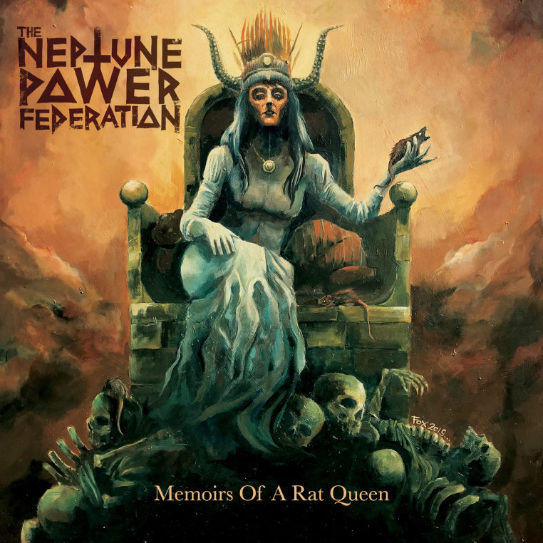 The-Neptune-Power-Federation-Memoirs-Of-A-Rat-Queen-cover-artwork