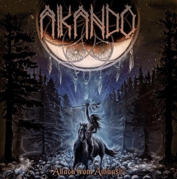 AKANDO-Attack-from-Ambush-album-cover