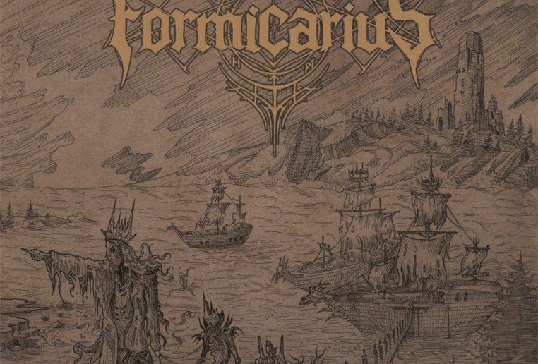 FORMICARIUS-Rending-the-Veil-of-Flesh-album-cover
