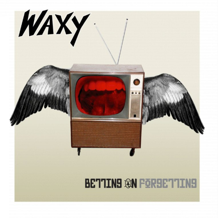WAXY-Betting-On-Forgetting-album-cover