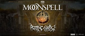 Moonspell, Rotting Christ, Silver Dust - WIEN, am 19.11.2019 @ SIMM City