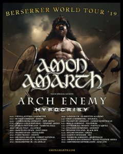 Amon Amarth - Wien, am 14.11.2019 @ Planet.tt Bank Austria Halle Gasometer