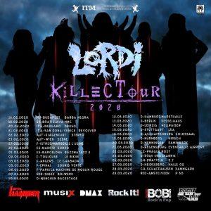Lordi - WIEN, am 23.02.2020 @ Szene WIEN
