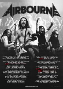 Airbourne - GRAZ, am 02.11.2019 @ Orpheum Graz