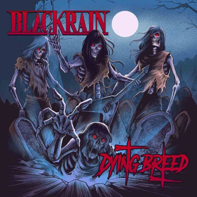 BLACKRAIN-Dying-Breed-album-cover