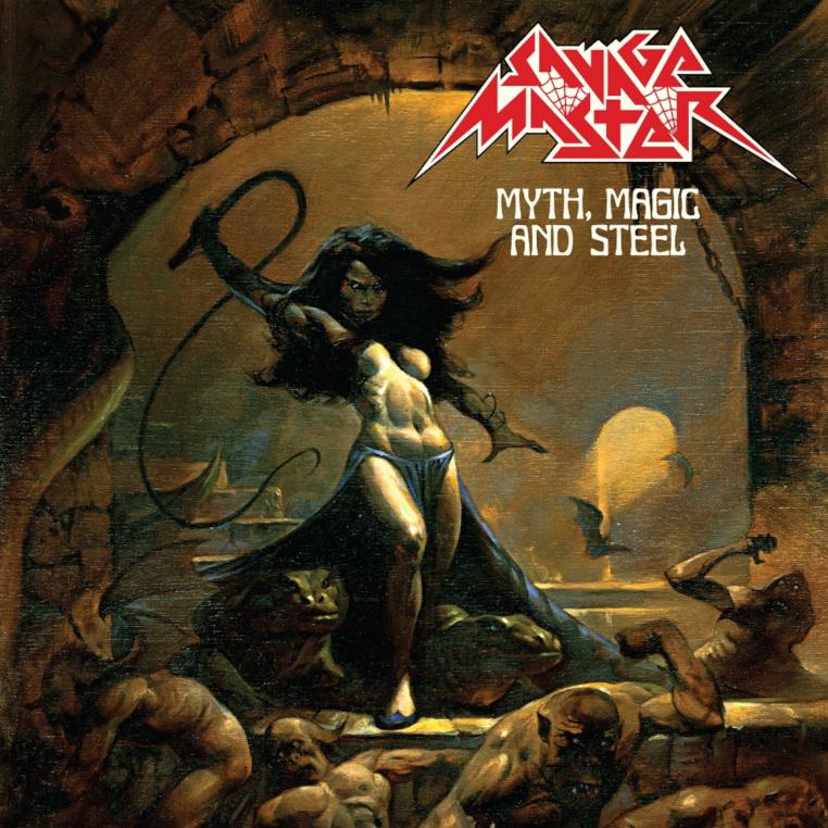 Savage-Master-Myth-Magic-And-Steel-album-cover