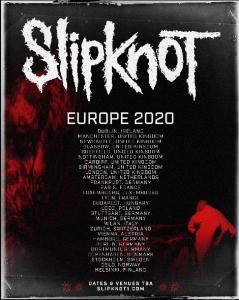 Slipknot - Special Guest: Behemoth - Stadthalle Wien, am 14.02.2020 @ Stadthalle WIEN