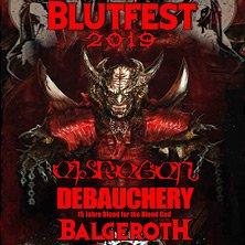 Blutfest 2019 - Eisregen, Debauchery, Balgeroth - MÜNCHEN am 22.11.2019 @ Backstage