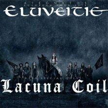 ELUVEITIE + Lacuna Coil - ATEGNATOS EUROPEAN TOUR 2019 - WIEN, am 08.12.2019 @ Arena Wien