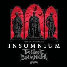 Insomnium + The Black Dahlia Murder + Stam1na - WIEN, am 20.11.2019 @ Arena Wien