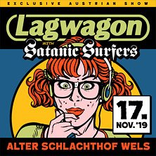 Lagwagon + Support @ WELS, Alter Schlachthof