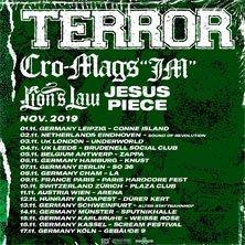 Terror - Special Guests - WIEN, am 11.11.2019 @ Arena Wien