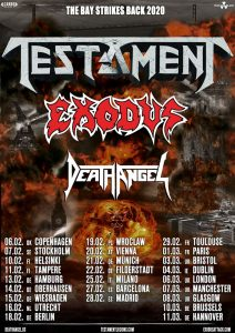 Testament | Exodus | Death Angel - München, am 21.02.2020 @ Backstage