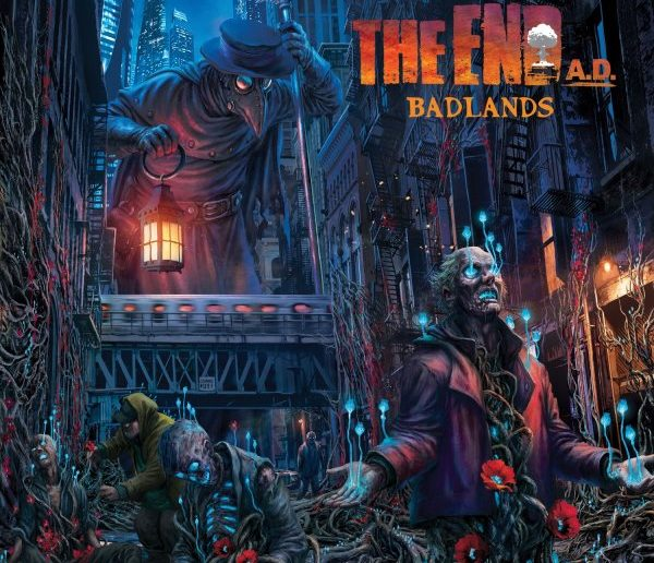 The-End-AD-Badlands-album-cover
