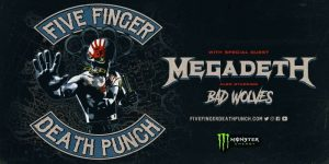 Five Finger Death Punch @ Wiener Stadthalle Halle D