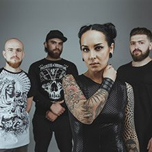 Jinjer - WIEN, am 19.12.2019 @ SIMM City