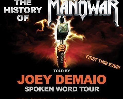 Joey DeMaio´s Spoken Word Tour Kleine Meistersingerhalle, Nürnberg 02.11.2019