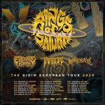 RINGS OF SATURN – kündigen The Gidim European Tour 2020 an!