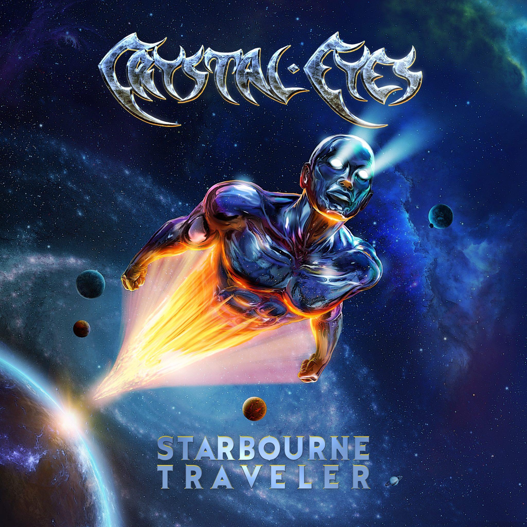 CRYSTAL - EYES - Starbourne Traveler album cover