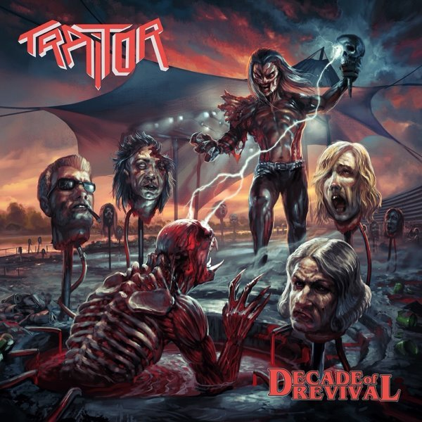 TRAITOR - Decade Of Revival album cover
