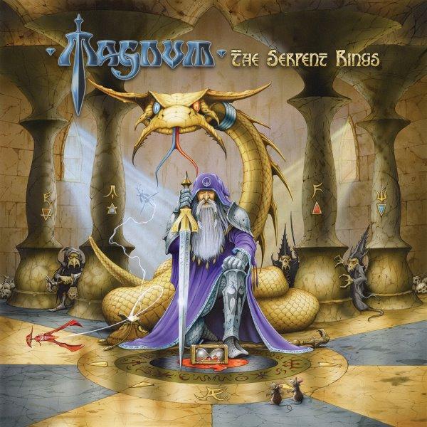 magnum - the serpent rings album cover