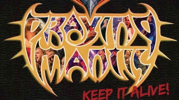 praying mantis - keep it alive album cover