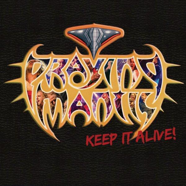 praying mantis - keep it alive album cover
