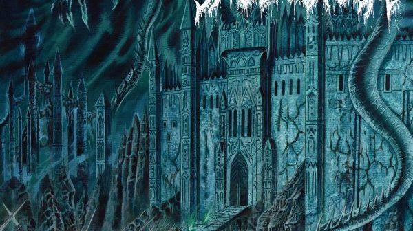 skullcrush - archaic towers of annihilation album cover