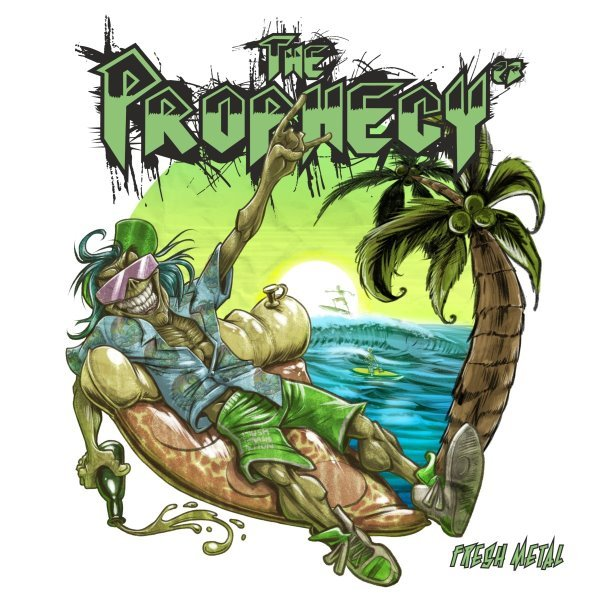 the prophecy 23 - fresh metal album cover