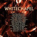 Whitechapel kündigen Europatour für nächsten April an!