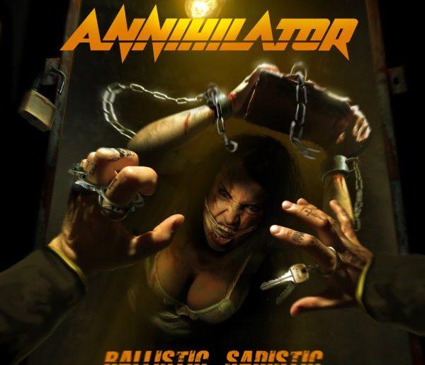 ANNIHILATOR - ballistic sadistic album cover