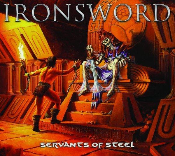 Ironsword - servants of steel album cover