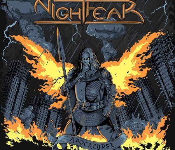Nightfear - Apocalypse album cover