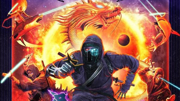 VICTORIUS - Space Ninjas from Hell album cover