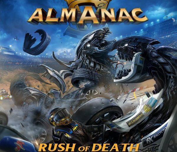 almanac - rush of death album cover