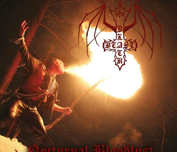 black beast - nocturnal bloodlust album cover