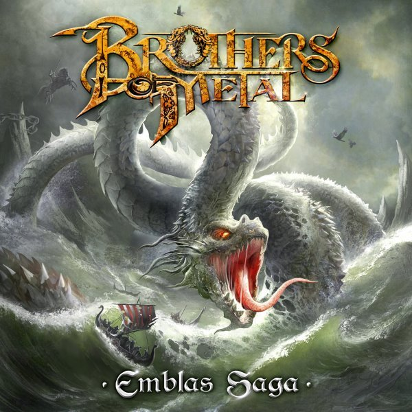 brothers of metal - emblas saga album cover