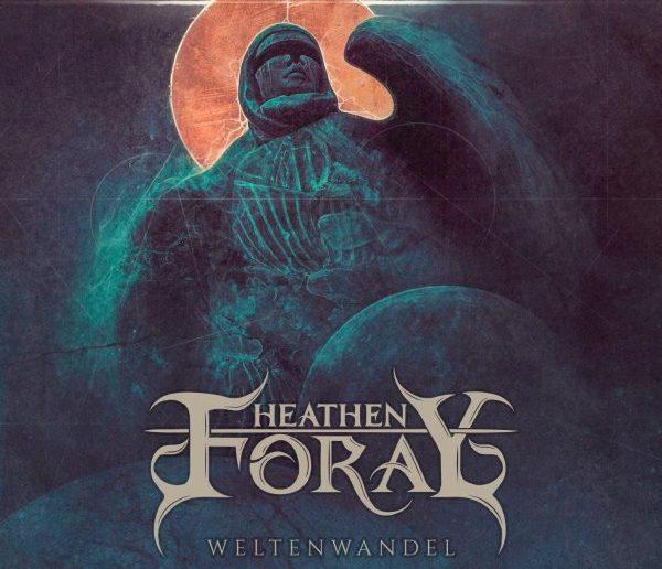 heathen foray - weltenwandel album cover