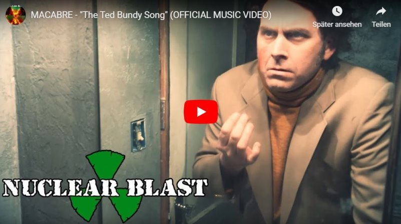 macabre - the ted bundy song video