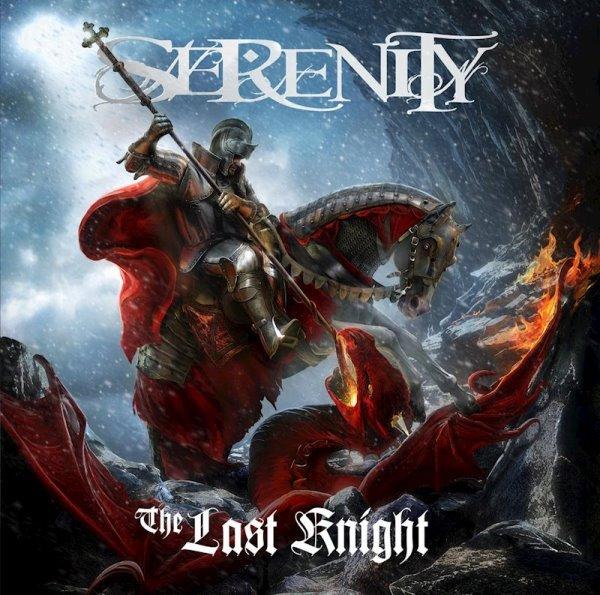 serenity - the last knight album cover