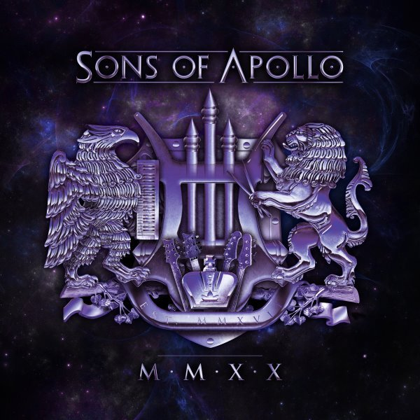 sons of apollo - mmxx album cover