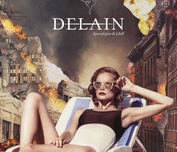 DELAIN - apocalypse and chill album cover